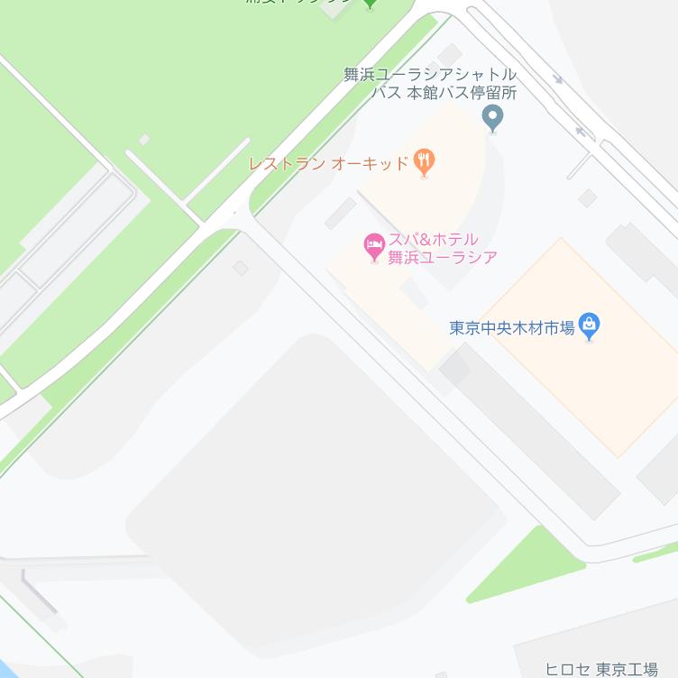 Googleマップより臨時駐車場リゾートパーキング第7